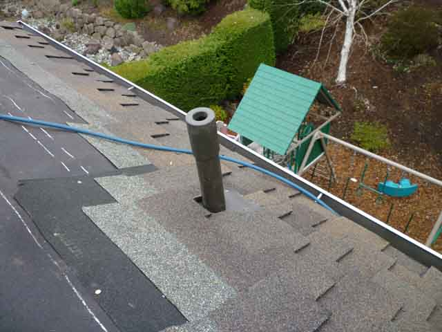 roof vent pipe flashing installation