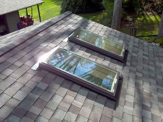 new roof skylight