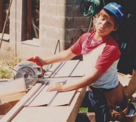 new castle roofing todd as kid